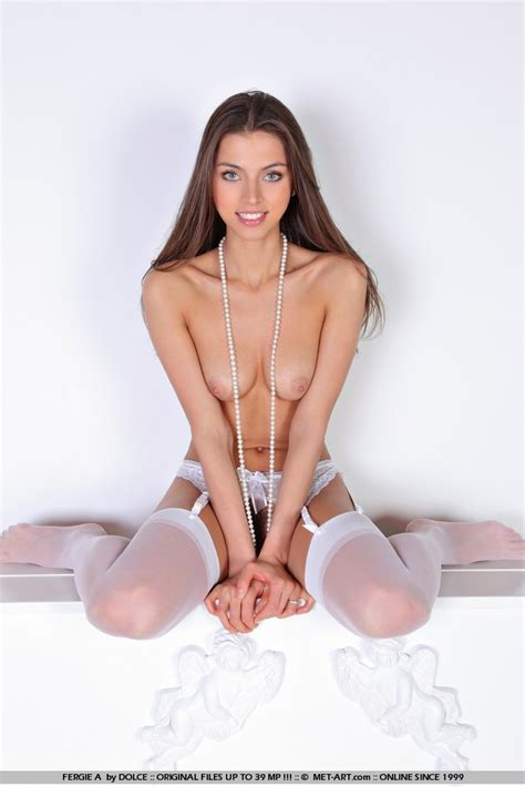 Valentina Kolesnikova Stockings And Garters Redbust
