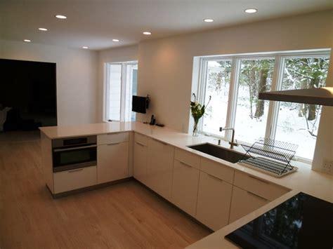 Beautiful White Kitchen  Modern  Kitchen  Boston By