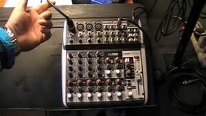 Behringer Mixer  How To Do A Setup
