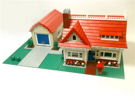 Custom Build House Ideas Photo Gallery by Custom Build Lego Cozy Bungalow Cc