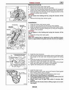 Diagrama Puesta A Punto Motor Nissan Zd30
