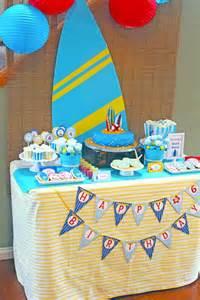 Surf Themed Birthday Party Ideas