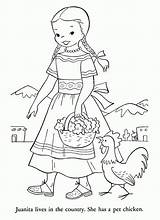 Coloring Pages Pioneer Clipart Colonial Mexico Children Peru America Printable Du Template States Dance Esteban Coloriage United Library Clip Frontier sketch template