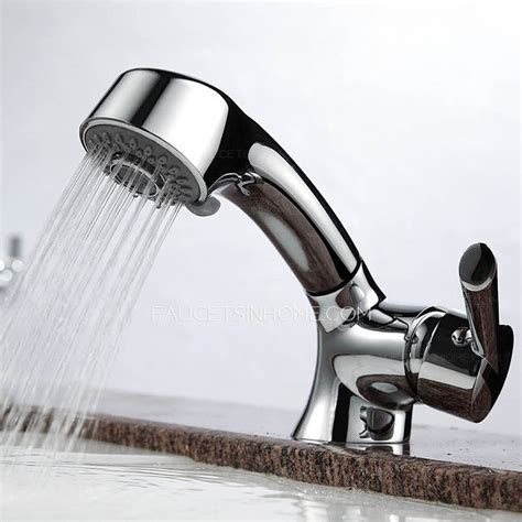 best faucet for kitchen sink best pullout shower water bathroom sink faucet single handle 7677