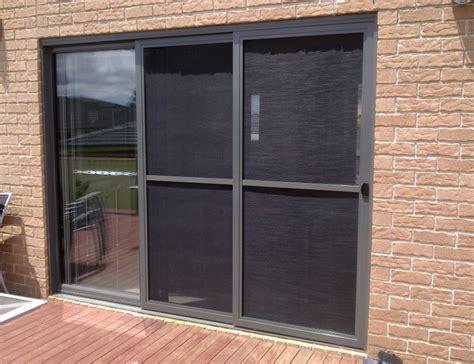 fly screen sliding doors flyscreens werribee blinds