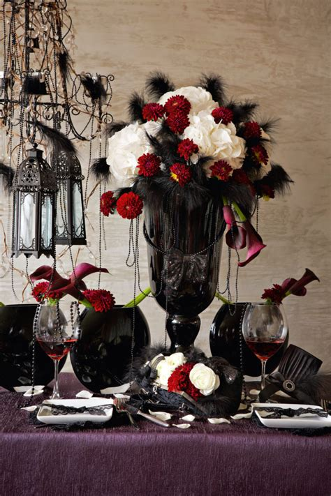 scarlet and black wedding theme inspo singapore the progressive women s