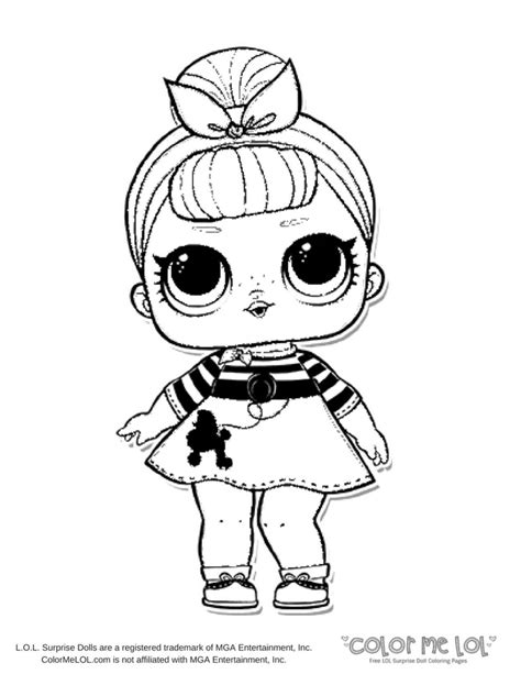 kids coloring pages lol dolls coloring pages