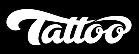 art  hand lettering  tattoo logo