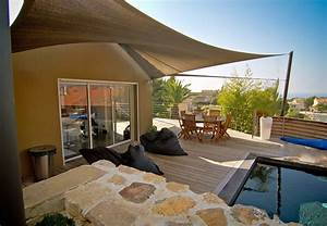 Protection Soleil Terrasse : buy your shade sail online from the best french shade sail professionals shipping worldwide ~ Nature-et-papiers.com Idées de Décoration