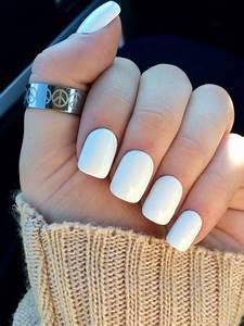 White nails fak... Fake Nails