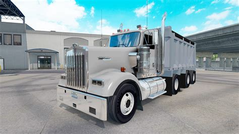 american truck kenworth kenworth w900 dump for american truck simulator