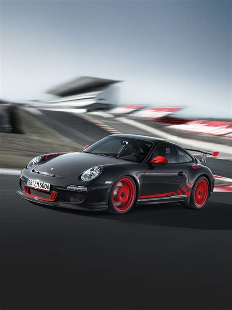cars porsche  gt rs track day ipad iphone hd