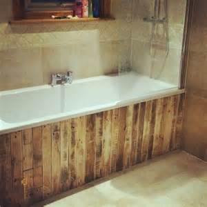 bathroom paneling ideas 25 best ideas about pallet bathroom on rustic furniture pallet wood walls and