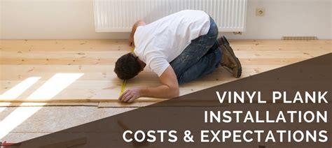 vinyl plank flooring cost installation pricing