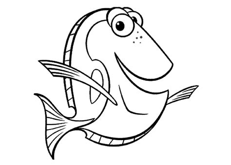 Dory Coloring Pages Coloring Pages
