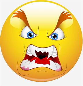 Angry Face, Yellow, Expression Control, Anger PNG Image ...