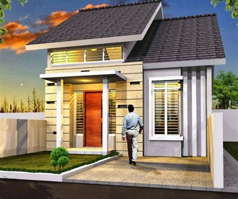 gambar bentuk rumah minimalis sederhana terbaru