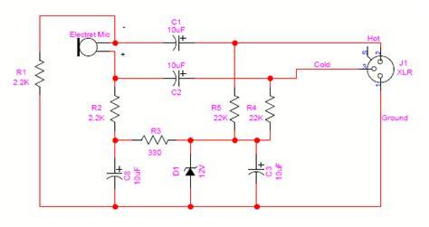 Phantom Power Xlr Wiring Diagram by Powering Microphones