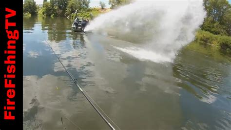 Bass Fishing Jet Boats by Sprayed By Jet Boat Bass Fishing The Yakima River