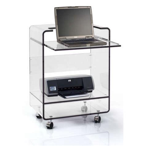 meuble bureau et ordinateur pas meuble pour ordinateur portable et imprimante table de lit