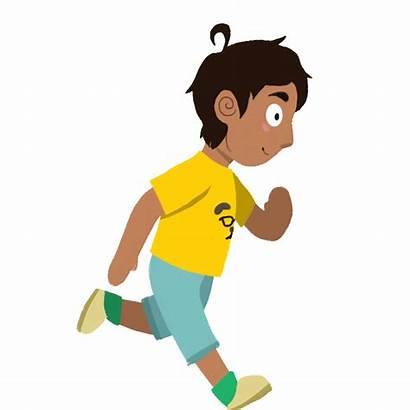 Running Character Cartoon Animation Kid Sylvia Wilson