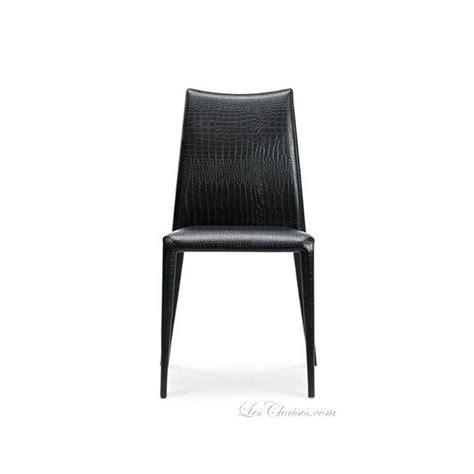 chaise salle a manger cuir midj chaise cuir régénéré salle a manger miss et chaises