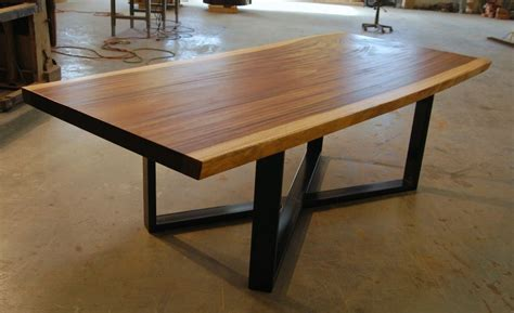what is a live edge table single slab raw edge live edge monkeypod dining table ebay