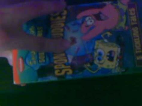 Spongebob Halloween Vhs And Dvd by My Collection Of Spongebob Squarepants Vhs Tapes Youtube