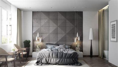 couleur chambre design  espaces domines par le gris