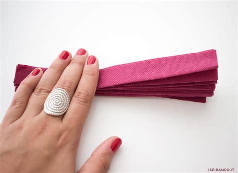 fiori con i tovaglioli di carta creare fiori con tovaglioli di carta ispirando