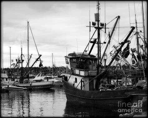 Fishing Boats Seattle by Seattle Fishing Boats Photograph By Schoenfeld