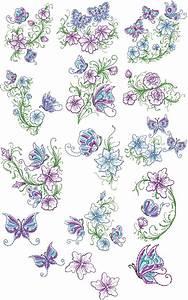 Floral, Elegance, Designs