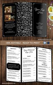 design templates menu templates wedding menu food With wordpress custom menu template