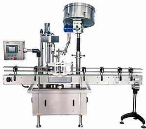 Linear capping machine with bottle sensor clamping system ...