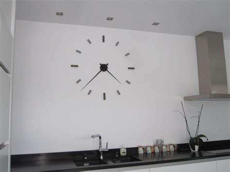 horloge de cuisine de galets deco et design