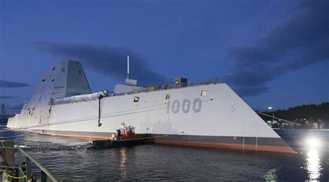 Navy Considering Railgun for Third Zumwalt Destroyer ...