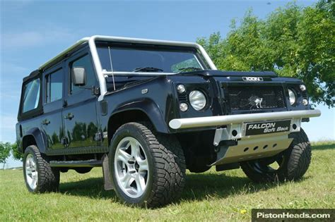 icon land rover classic land rover defender icon 110 svx soft top for sale