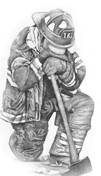 To my fallen brothers | Firefighter drawing, Firefighter