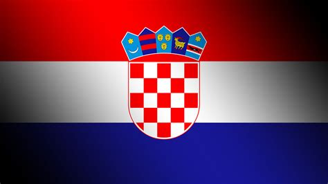 flagge kroatiens hintergrundbilder