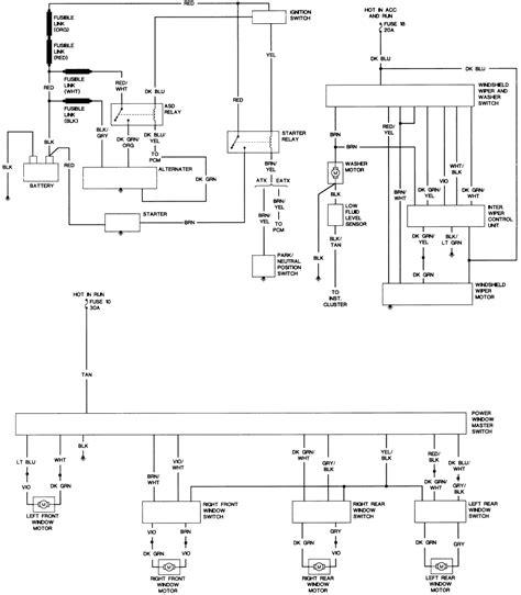 1994 Plymouth Sundance Wiring Diagram by Repair Guides Wiring Diagrams Wiring Diagrams