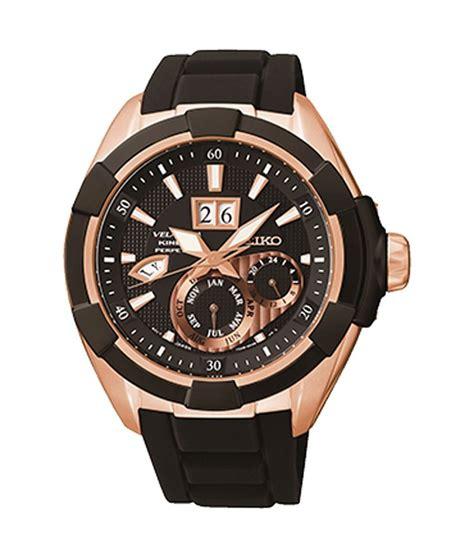 seiko snp104p1 velatura brown analog chronograph