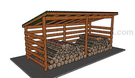 firewood storage shed plans how to build a barbeque pit howtospecialist how to