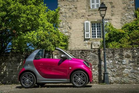Smart Goes All-electric With 2018 Ev