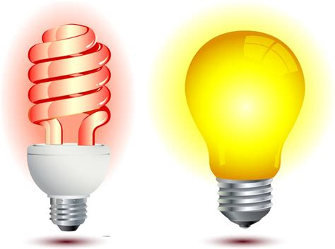 light bulbs light bulbs in row with single one shinning