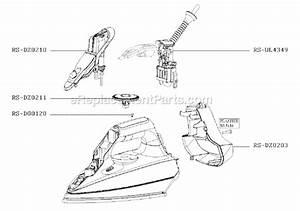 Rowenta Dz2070u1 Parts List And Diagram