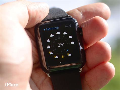 apple weather check app apps imore place wrist field