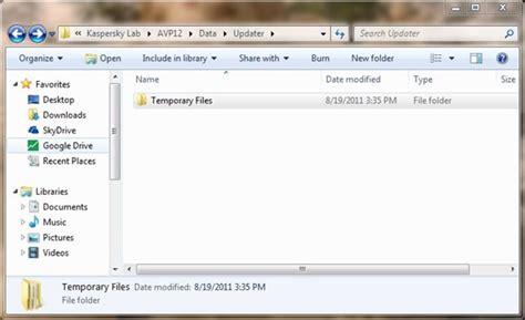 Free Up Disk Space After Installing Kaspersky Antivirus Or
