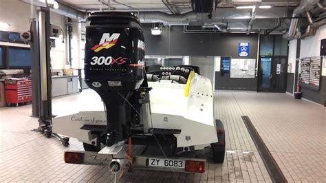 Xs Catamaran by Mercury Racing Optimax 300xs Catamaran Twister 25 Youtube
