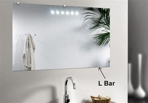 L Bar Mirror Support For Decorative Edged Mirrors Dulles