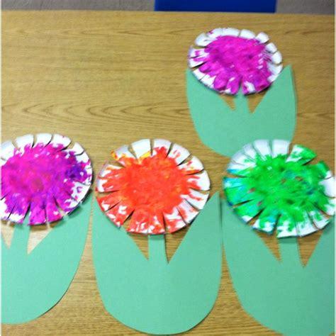 paper bowl flower     year olds  preschool